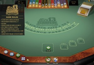Hi Lo 13 European BlackJack