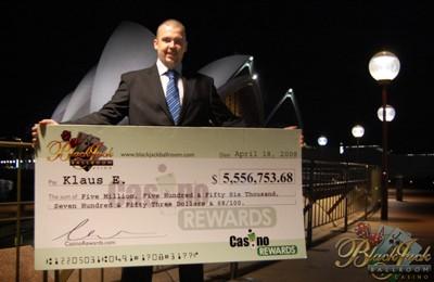 Klaus E 5M Jackpot Winner