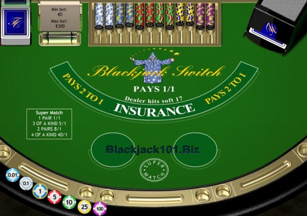 Blackjack switch vegas
