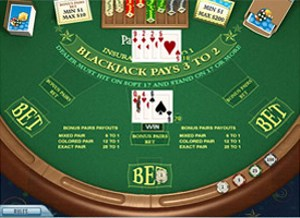 Preview Bonus Pair Blackjack