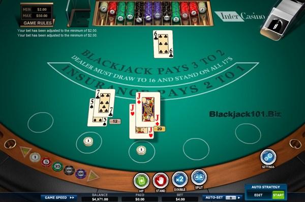 Crypto blackjack