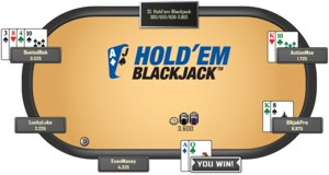 holdem blackjack300