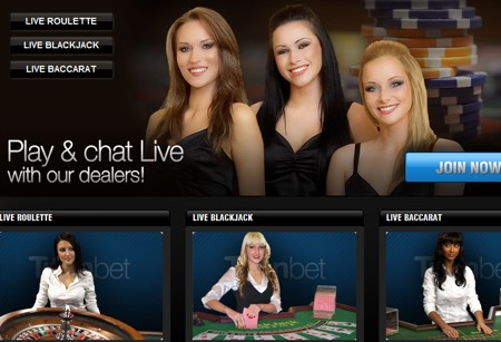 live dealer blackjack roulette titanbet